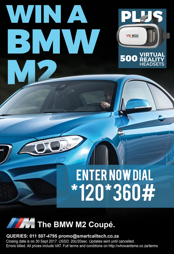 Win a Jaguar BMW M2