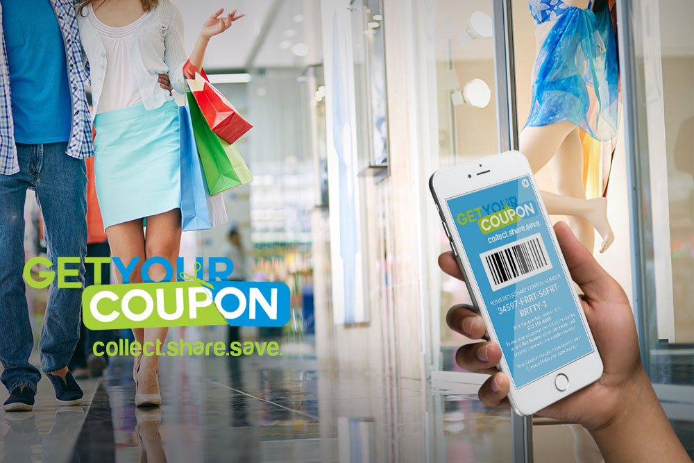 Get your coupon mobile app
